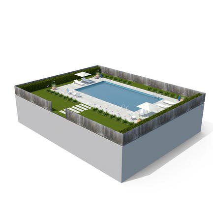 Swimmingpool & Garten
