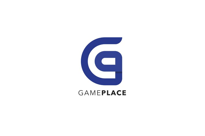 Thumbnail for Game Place Logo / G P Letter Template