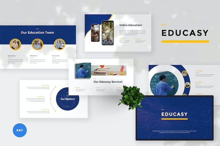 Thumbnail for Шаблон Keynote современного образования