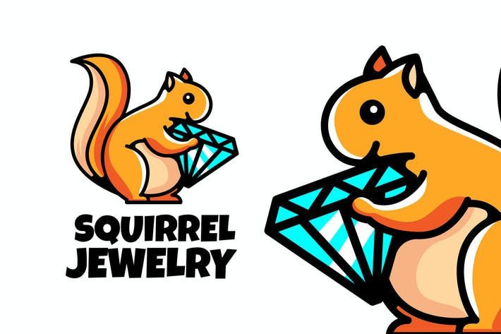 Thumbnail for SQUIREEL JEWELRY - Mascot & Esport Logo