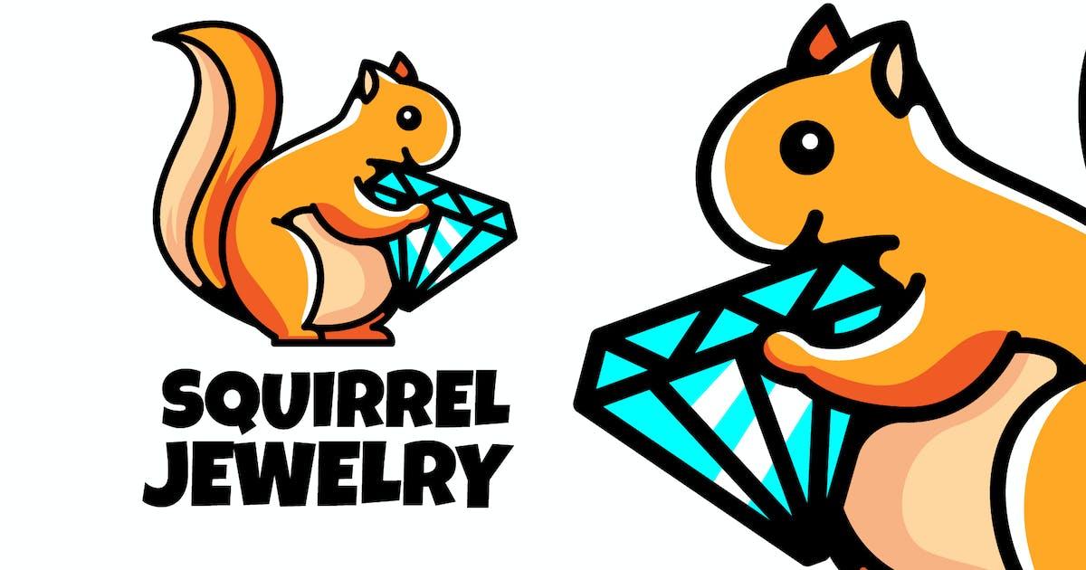 Download SQUIREEL JEWELRY - Mascot & Esport Logo by aqrstudio