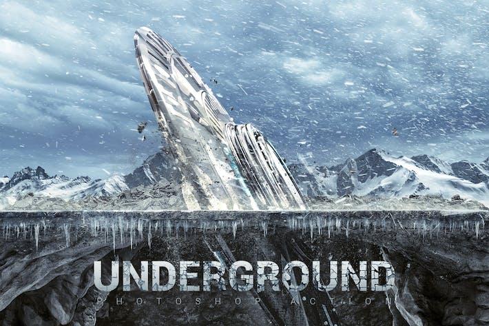 Underground Photoshop Action