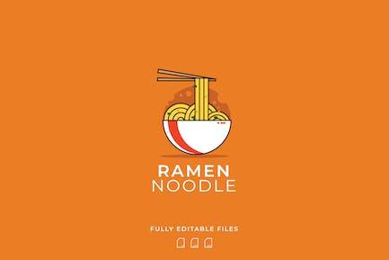 Ramen Noodle Logo