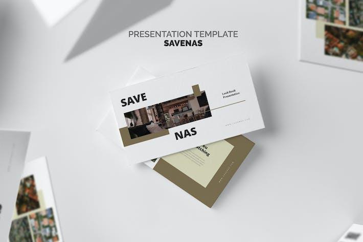 Thumbnail for Savenas: Immobilienmakler Powerpoint
