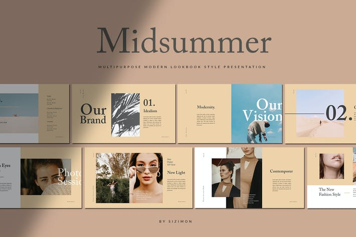 Thumbnail for Midsummer Presentation - Powerpoint