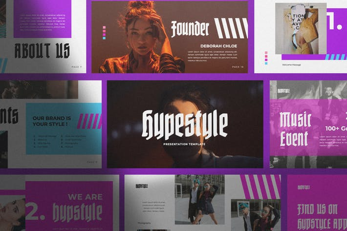 Thumbnail for Hypstyle Urban Powerpoint