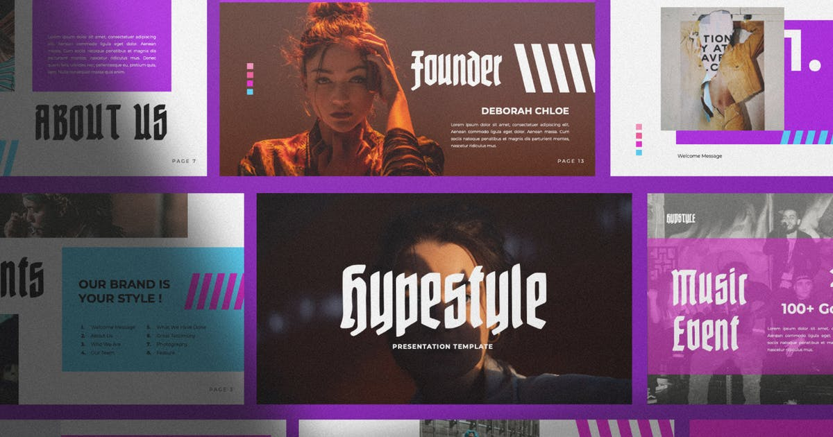 Download Hypstyle Urban Powerpoint by templatehere