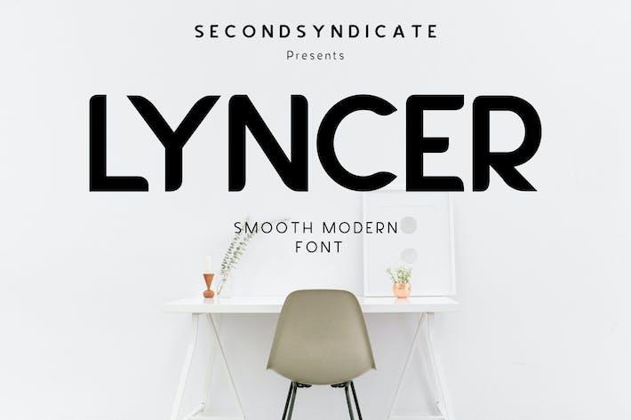 LYNCER - Modern and minimalis font