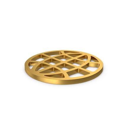 Золотой символ Web