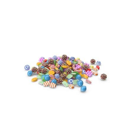 Süßigkeiten-Stapel