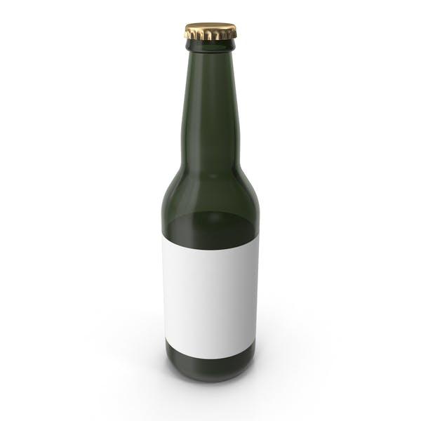 Thumbnail for Sample Green Glass Bottle of Beer