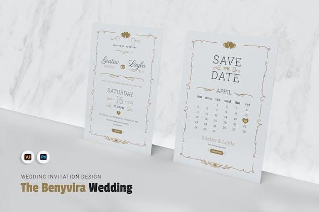 Benivyra Wedding Invitation
