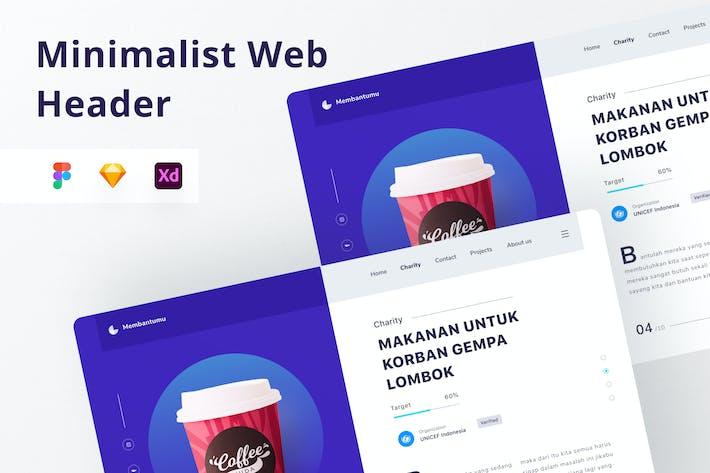 Thumbnail for Web Header Coffee Shop