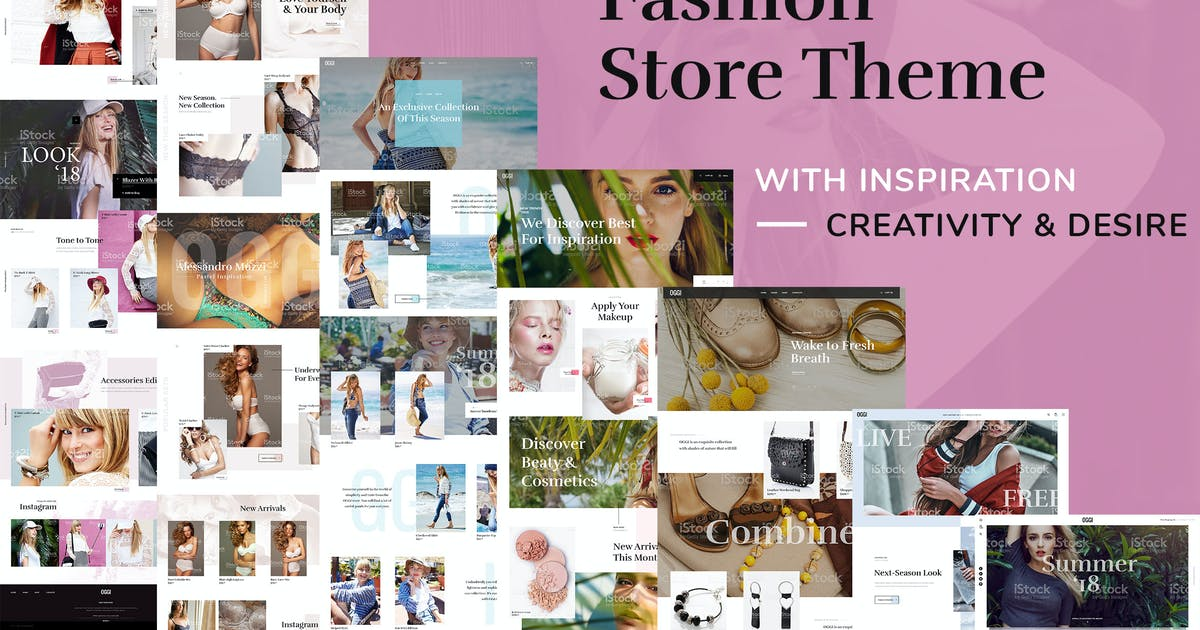 Download OGGI - Fashion Store WooCommerce Theme by RB-Themes
