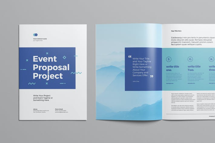 Thumbnail for Event Proposal Template