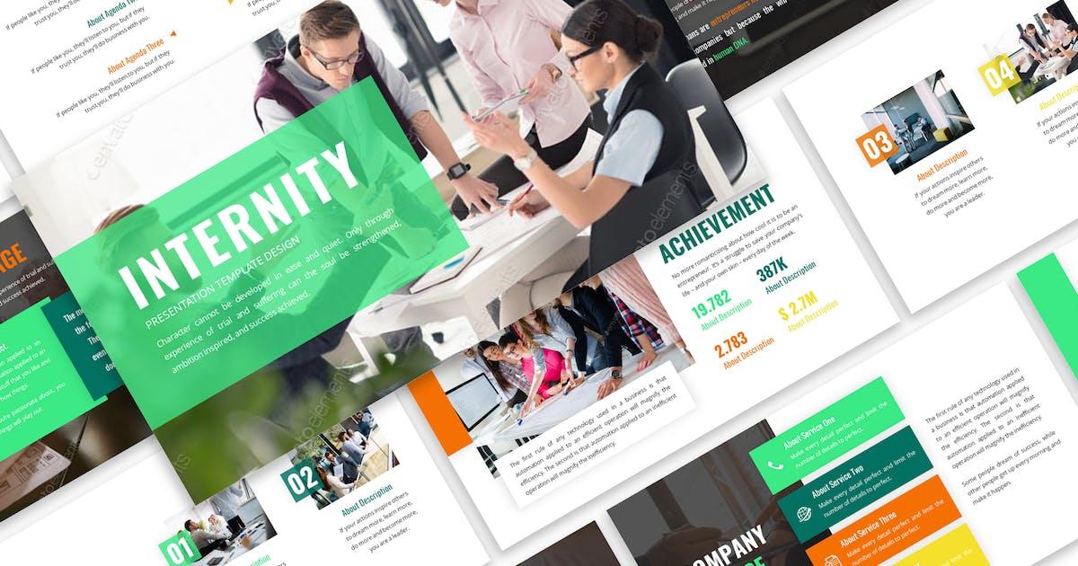 Download Internity - Business Template Prensentation by Blesstudio