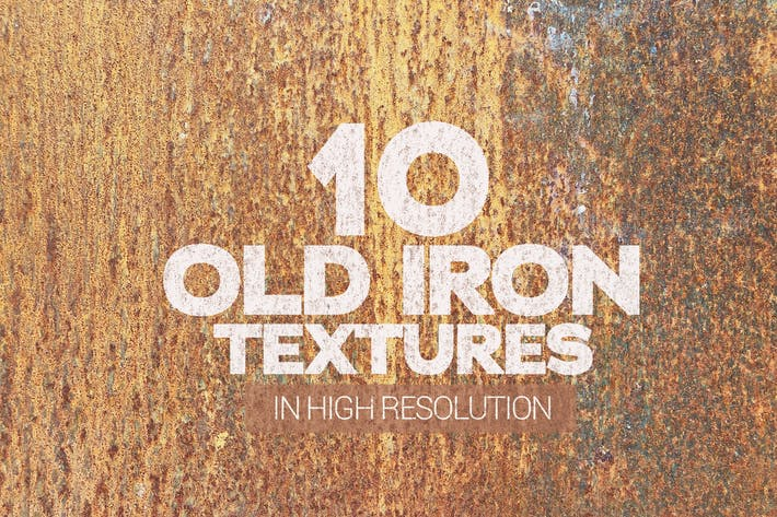 Cover Image For Old Iron Textures