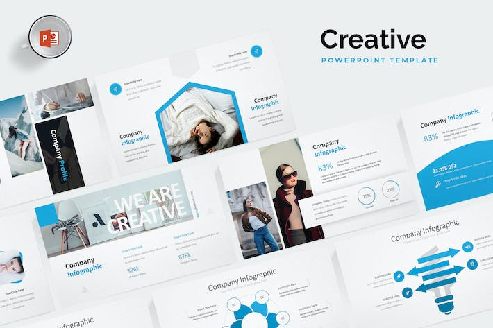 Thumbnail for Creative Powerpoint Templates