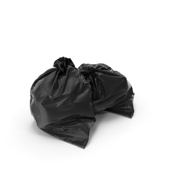 2 Müllsäcke