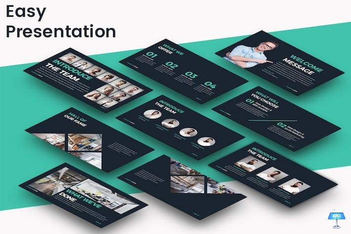 Thumbnail for Easy - Шаблон презентации Keynote