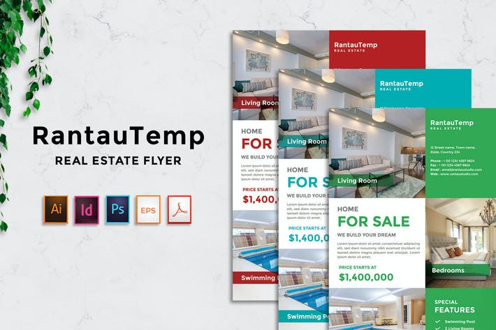 Thumbnail for RantauTemp - Real Estate Flyer v2