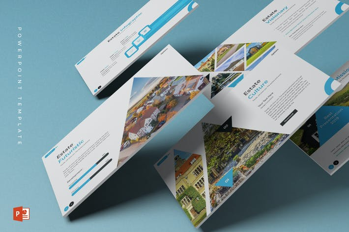 Thumbnail for The Estate - Powerpoint Template