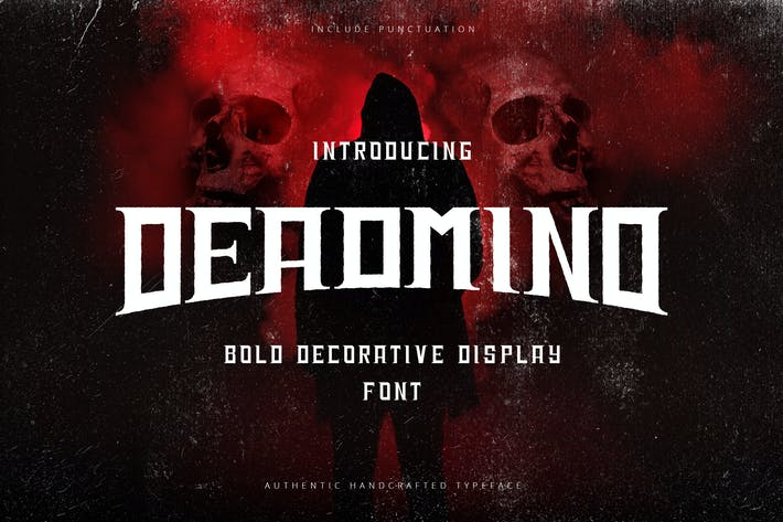 Thumbnail for Deadmind - Bold Decorative Display Sans