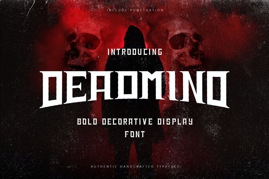 Deadmind - Bold Decorative Display Sans