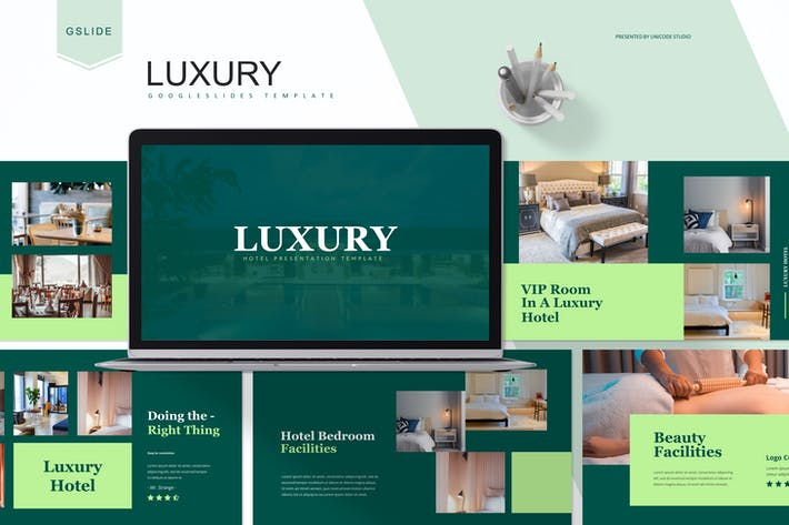 Thumbnail for Luxury -  Google Slides Template