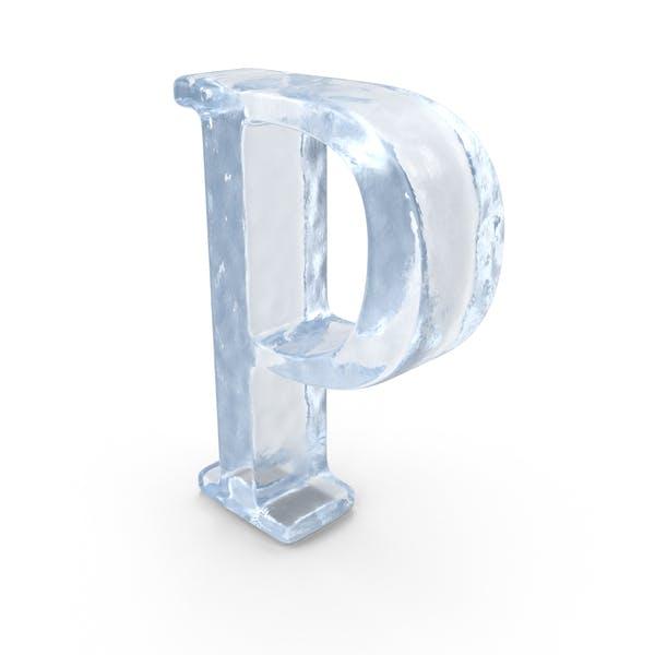 Ледяная заглавная буква P