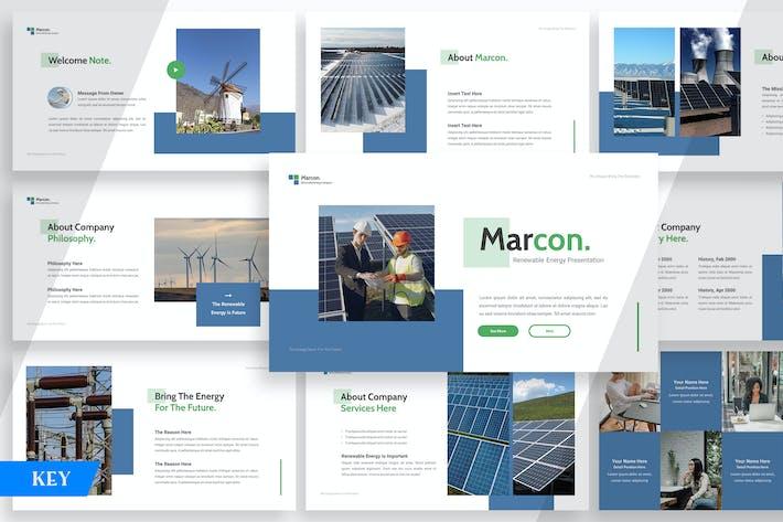 Thumbnail for Marcon Возобновляемые источники энергии - Keynote