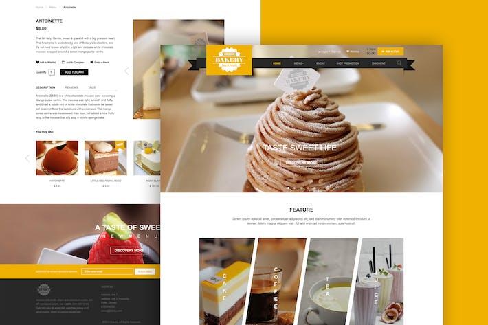 Thumbnail for Food - Web UI Design Concept