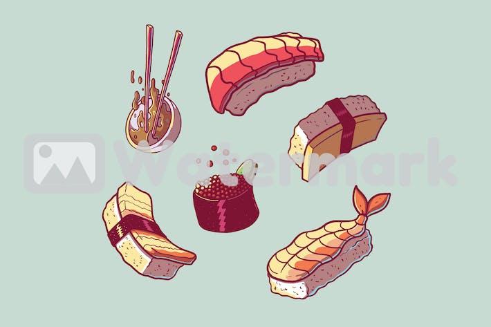 Thumbnail for Sushi Parts