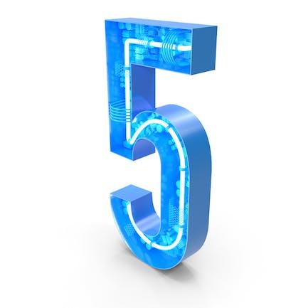 Alfabeto Tech número 5