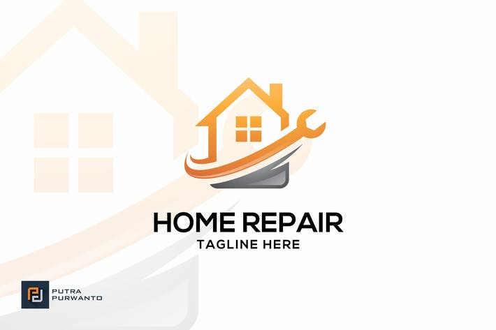 Thumbnail for Home Repair - Logo Template