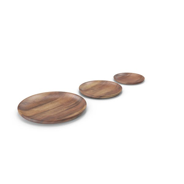 Cover Image for Wooden Serving Plate