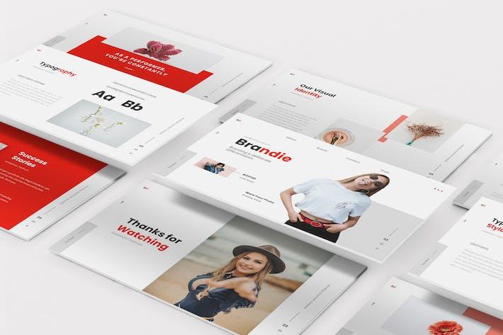 Thumbnail for Brandie Branding Google Slides Template