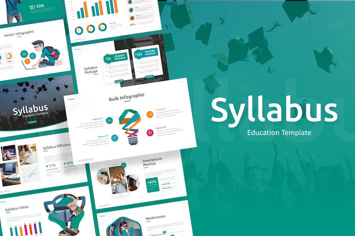 Thumbnail for Syllabus - Education Powerpoint Template