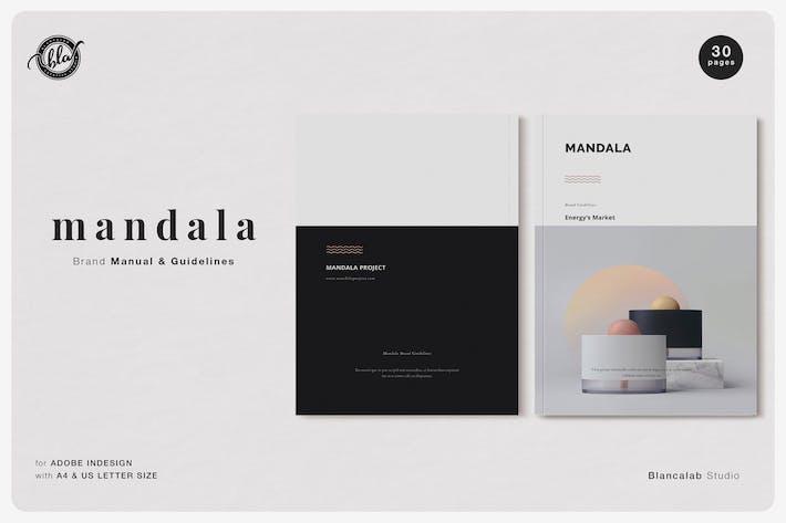 Thumbnail for MANDALA Brand Manual & Guidelines