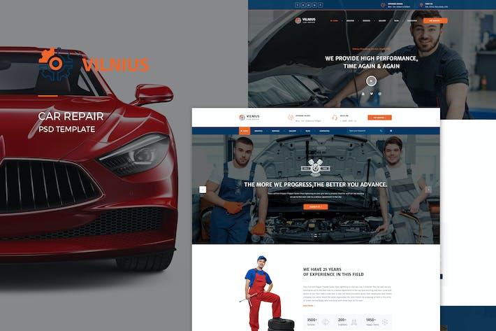 Thumbnail for Vilnius : Car Repair PSD Template