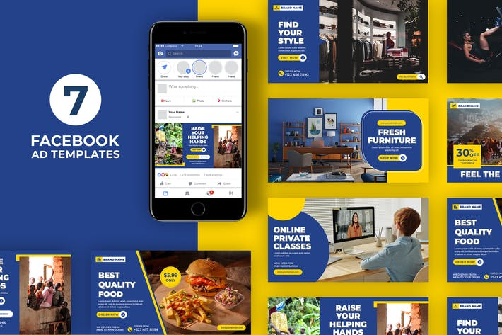Thumbnail for Facebook Ad Templates