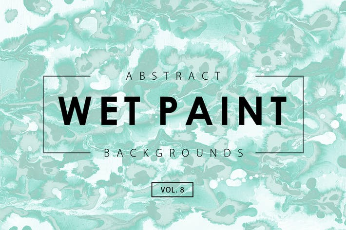 Wet Paint Backgrounds Vol. 8