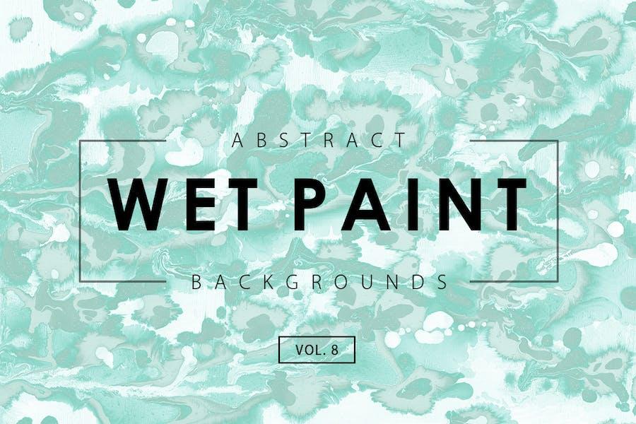 Wet Paint Backgrounds Vol. 8