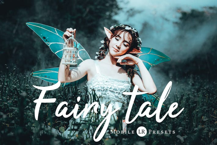 Thumbnail for Fairytale Mobile Lightroom Presets