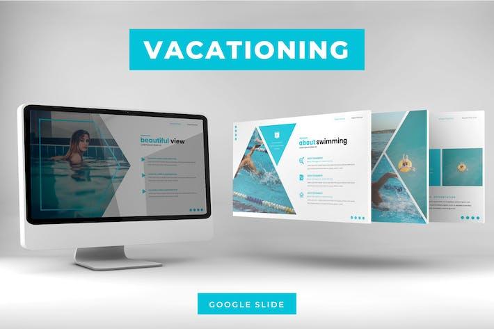 Отпуск - Шаблон слайдов Google