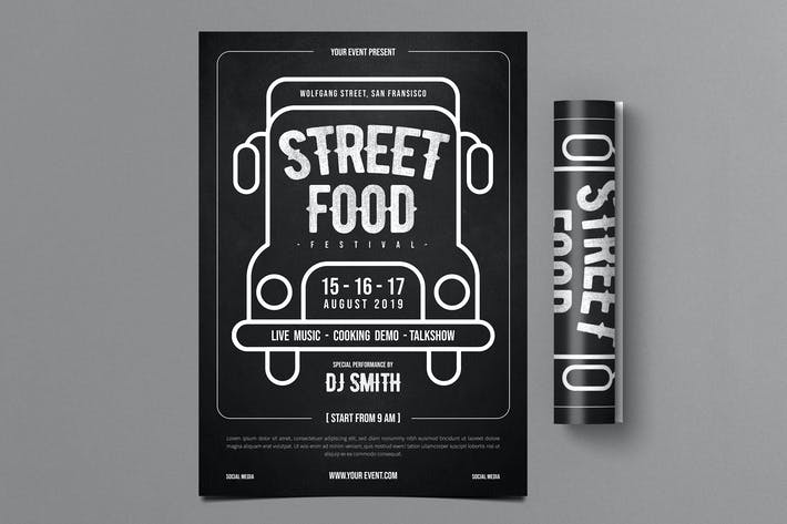 Thumbnail for Street Food Festival Flyer