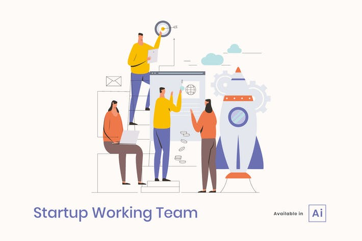 Thumbnail for Startup Working Team