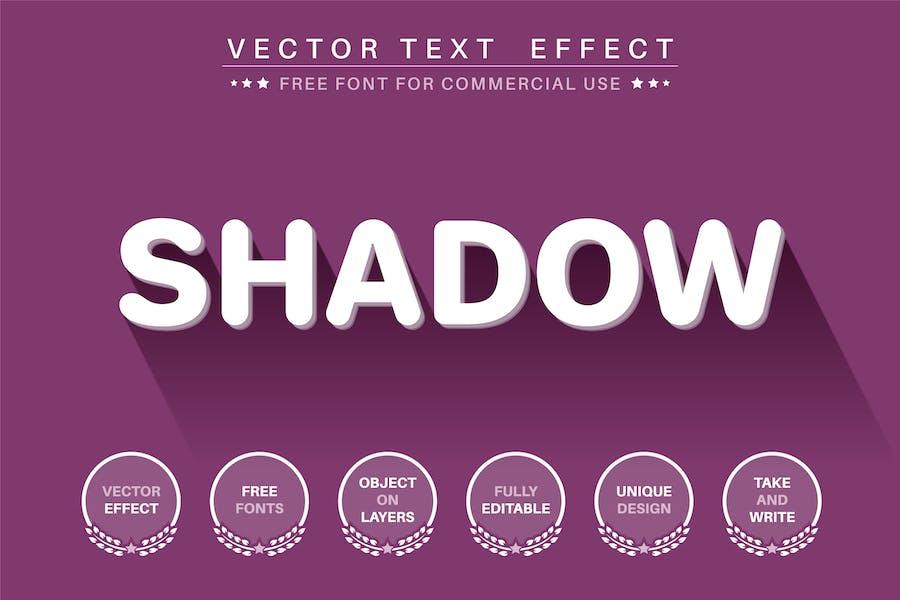 3D Text Effect - редактируемый текстовый эффект, стиль шрифта