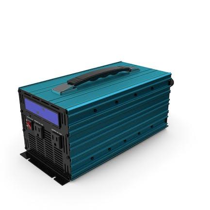 Power Inverter Sky-blue