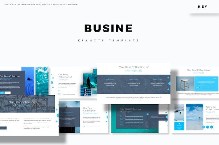 Thumbnail for Busine - Шаблон Keynote